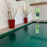 demeure normande piscine chauffée sauna, hôtel à Gonneville-sur-Mer