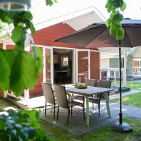 Beautiful lodge with a nice terrace, located in Brabant