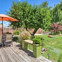Central Medford Family Retreat with Large Yard!, hotel in Medford