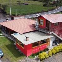 """Casa de campo """"Ruta de los volcanes"""", hotel em Machachi"""