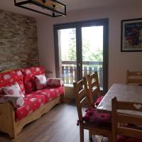 Appartement Saint Gervais les Bains vue imprenable Mont Blanc