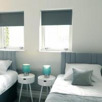 Blue Apartment, 2 Bedroom with Balcony, Netflix
