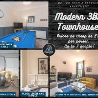Modern 3BR home- Sky Q, Xbox and Pool Table