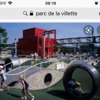 Parc de la Villette Aubervilliers