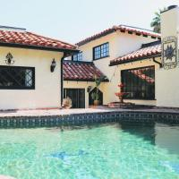 Mediterranean Chic home with Pool & BBQ - 3 BR/2BA