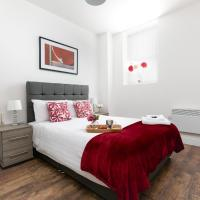 KVM - City Apartment 9, town centre with parking by KVM Serviced Accommodation