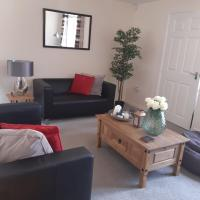 Fully furnished bedrooms in modern property