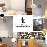 2 Bedroom Winifred Townhouse at Avenew Management Serviced Accommodation Stoke-on-Trent with Free Parking & WIFI