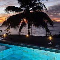 Charmante chambre sur les hauteurs de Punaauia, отель в Пунаауйе