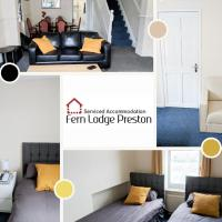 4 Bedroom House at Fern Lodge Preston Serviced Accommodation - Free WiFi & Parking