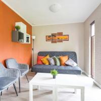 Nature holiday home in Ermelo with a terrace and garden