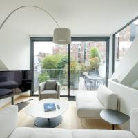 Splendid 4 br duplex with terrace at Châtelain