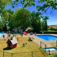 Inviting Chalet in Lathum with Swimming Pool