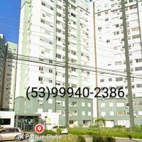 JK Clube Apto luxo 3 dormitorios garagem, hotel in Pelotas