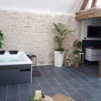 Maison privative, cocooning, zen , avec jacuzzi, hôtel à Mont-Notre-Dame