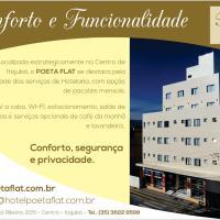 Hotel Poeta Flat, отель в городе Итажуба