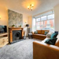 Refreshing 4-Bed House in Crewe by 53 Degrees Property, Ideal for Contractors & Business, Long-term discounts - Sleeps 8