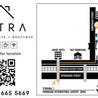 Petra Boutique Donmuang, hotel near Don Mueang International Airport - DMK, Bangkok