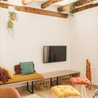 Apartaments la Rambla - Arbequina - 6 persones, hotel in Cornudella