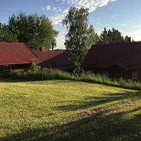 Homestead with sauna, viešbutis mieste Dziviliškiai