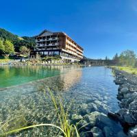 Ruhehotel & Naturressort Rehbach - Adults only, hotel in Schattwald