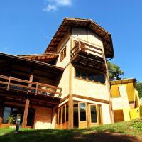 Mairipora - Casa nas montanhas com churrasq e Wi-Fi
