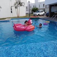 Casa en Veracruz con alberca y lago Dream Lagoons