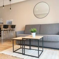 Studio neuf et design équipé Wifi proche des villes ORLY MASSY PARIS