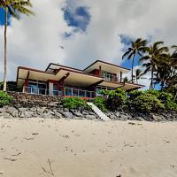 Rock Piles & Pipeline En Suite - Beachfront Units home, hotel in Haleiwa