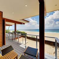 Pipeline En Suite - Beachfront Water-View Studio apts, hotel in Haleiwa