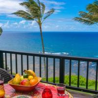 Sealodge C7-oceanfront views, top floor privacy, bright tropical interior