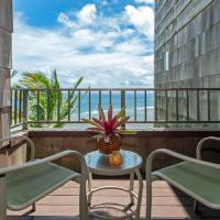 Sealodge G8-oceanfront views and top floor privacy, pool, near secluded beach.