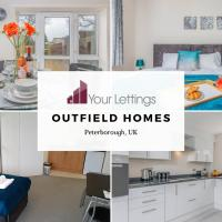 5 Bedroom Contractor House with Free Parking and Free WiFi - Outfield Homes by Your Lettings Peterborough