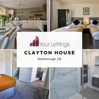 6 Bedroom Contractor House with Free Parking, Free WiFi and Free Netflix - Clayton House by Your Lettings Peterborough