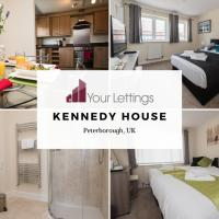 6-bedroom Contractor House with 6 bathrooms, Free WiFi and Parking - Kennedy House by Your Lettings Peterborough