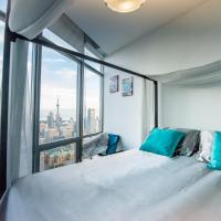 Romantic space with stunning city view