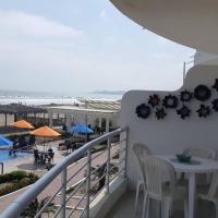Departamento al Pie del Mar y Area Social, hotel em Playas