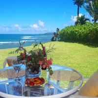 Sealodge J1-ground floor with oceanfront views, king bed, pool & more
