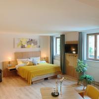Hotel Blauer Wolf, отель в городе Гунценхаузен