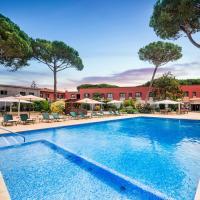 Salles Hotel Aeroport de Girona, hotel a prop de Aeroport de Girona-Costa Brava - GRO, a Riudellots de la Selva