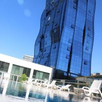 Nice big apartment with sea & city view with 2 pools & Gym B99-2