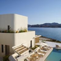 White Pebble Suites, hotel in Pollonia