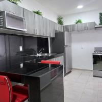 Habitación privada con baño y alberca en la propiedad