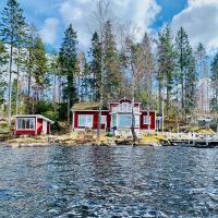 """Talludden"" by the lake Årydssjön,"