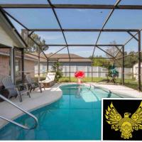 Centrally located Private Getaway home with pool, hotel in Deltona