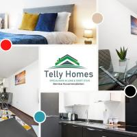 1 Bedroom Apartment at Telly Homes Limited Birmingham - Free WiFi, Aster unit