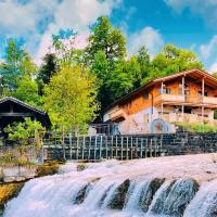 Ferienhaus zwischen Berg und Bach
