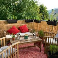 Ravissant duplex 120m2 au vert avec terrasse / BBQ
