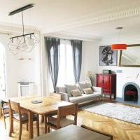 Charonne/Nation: spacious family apartment+parking