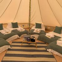 Glamping for eight - the swallows